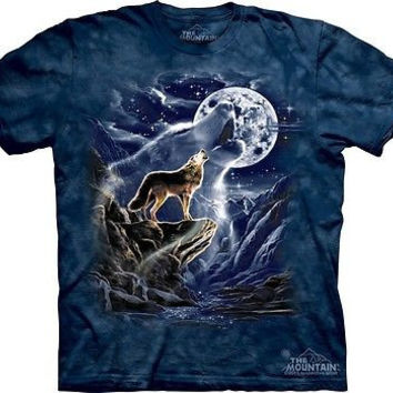 Wolf Spirit Moon T-Shirt