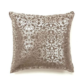 Lia Novelty Pillow, Beige, Set of 2, Small