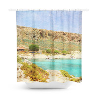 At Sea 3 Shower Curtain