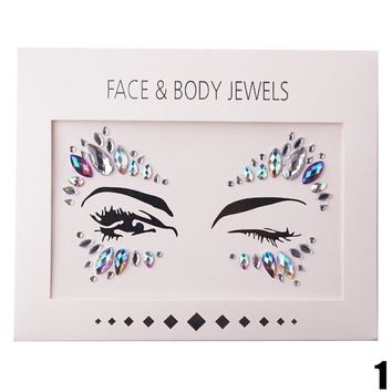 Stick On Face Jewels/Gems
