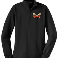 Williamsville East Womens Lacrosse Sport-Tek® Ladies 1/4-Zip Sweatshirt