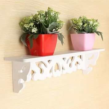 Wall Mounted Shelves Figurines and Miniatures Storage Holders