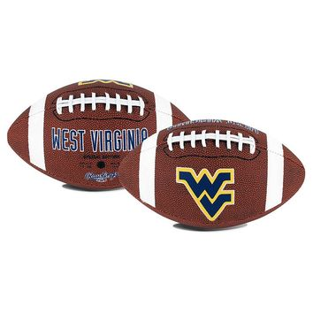 Rawlings West Virginia Mountaineers Game Time Football (Blue)