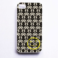 Sherlock Holmers Smile Damask Phone Case For iPhone Samsung iPod Sony