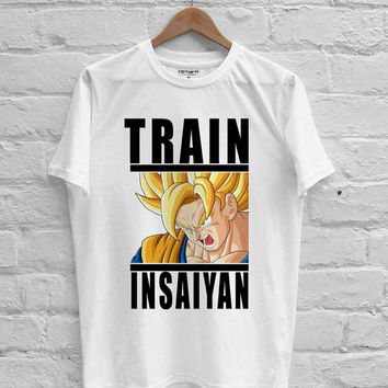 Dragon Ball Train insaiyan T-shirt Men, Women Youth and Toddler