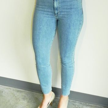 """Joe's Jeans The Bella 11"""" High Rise Skinny Ankle in Kyra"""