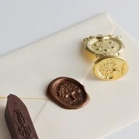 Oak Tree Wax Seal Set with Chocolate Wax, Freund Mayer - Barnes & Noble