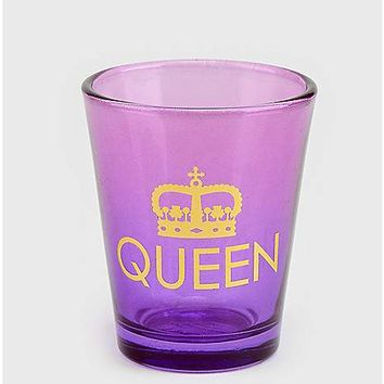 Queen Shot Glass 1.5 oz - Spencer's