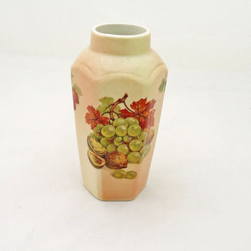 Vintage Royal Worcester Palissy Fruit Collection Small Vase, UK Seller