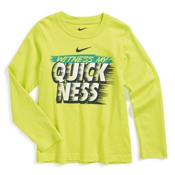 Boy's Nike 'Witness My Quickness' T-Shirt,