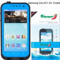 For Samsung Galaxy S4 Waterproof Superproof Dirtproof Snowproof Shockproof Case for Samsung Galaxy S4(Blue)
