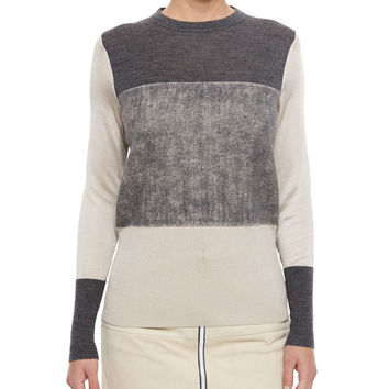 Marissa Colorblock Knit Sweater, Size: