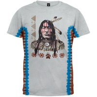 Native American Tie Dye T-Shirt