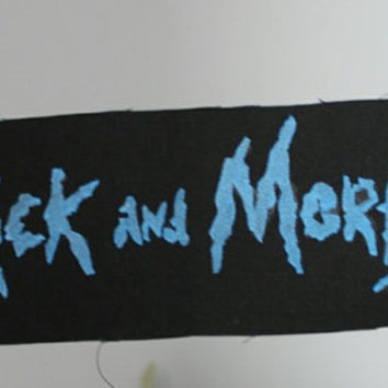 Rick and Morty Punk Patch
