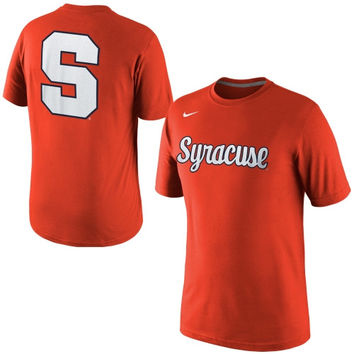 Nike Syracuse Orange Hyper Elite Uniform Hook T-Shirt - Orange