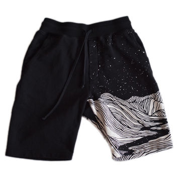 Valley Sweatshorts - Black