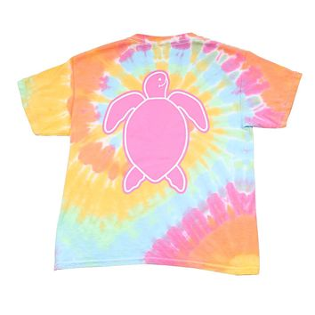 Youth Save the Turtles Washed Logo Tee by Simply Southern