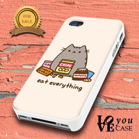 Pusheen The Cat Perfect Weekend for iphone, ipod, samsung galaxy, HTC and Nexus PHONE CASE