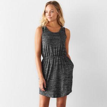 Women's SONOMA Goods for Life Marled Tank Dress
