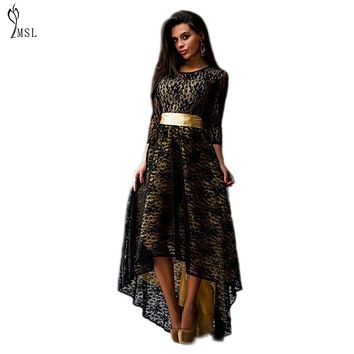 40%Y3312ZM Robe Longue Femme Indian Dress With Petticoats Summer Lace Evening Party Dresses Floor Length Long Lady Vestidos