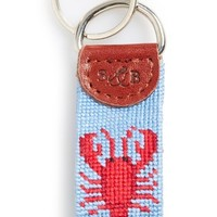 Smathers & Branson 'Lobster' Needlepoint Key Fob | Nordstrom