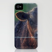 Moo Cow II iPhone Case by RDelean | Society6