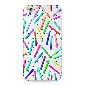80's Party Phone Case, Confetti Phone Case, Neon Brights Phone Case, Stripes and Polka Dots Phone Case, iPhone, Samsung Galaxy