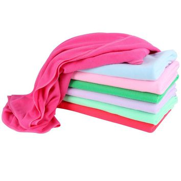 Absorbent Microfiber Bath Towel Quick Drying Beach Towel Washcloth Swimwear Boby Shower Towel
