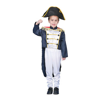 Colonial General Dress Up Costume Set - Medium 8-10