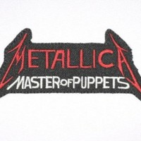 "METALLICA Puppets Iron On Metal Band Patch 4.6""/12cm x 2.3""/6cm By MNC Shop"
