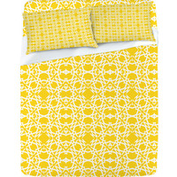 DENY Designs Home Accessories | Lisa Argyropoulos Electric In Zest Sheet Set