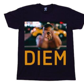 ONETOW Diem Middle Finger T-Shirt In Black