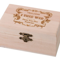 Ring Bearer Box-True Love