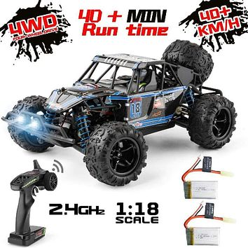 RC town 9303E 1:18 Scale Remote Control Car 40+km/h High Speed Off Road Vehicle
