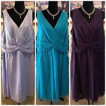 Donna Morgan Collection Silk Dresses, US Size 22W