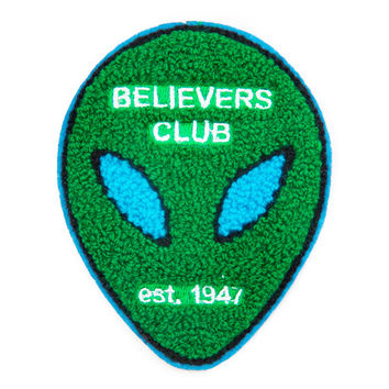 Believers Club Chenille Patch