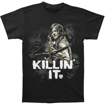 Walking Dead Men's  Killin It T-shirt Black Rockabilia