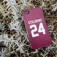 Teen Wolf STILINSKI lacrosse jersey iPhone 4 4s by blacksheepcase