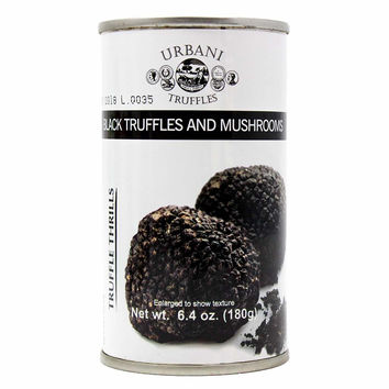 Urbani - Black Truffles and Mushrooms Sauce 6.4 oz. (180g)