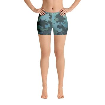 Women's Active Comfort Sport O.U.R. Outdoors Camo Shorts