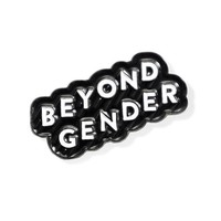 Beyond Gender Pin - Black