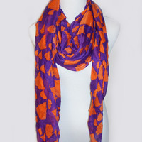 Clemson Pride State Scarf