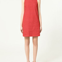DRESS WITH CUT OUT DESIGN - Dresses - Collection - Woman - ZARA United States
