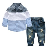 Children Clothing 2018 Autumn Winter Boys Clothes T-shirt+Pant 2pcs Outfit Kids Clothes Boys Suit For Toddler Boys Clothing Sets