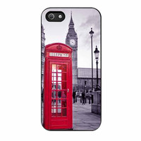 London Big Ben Red Phone Box iPhone 5 Case