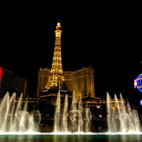 Las Vegas - Paris Hotel And Casino 001 Photograph by Lance Vaughn - Las Vegas - Paris Hotel And Casino 001 Fine Art Prints and Posters for Sale