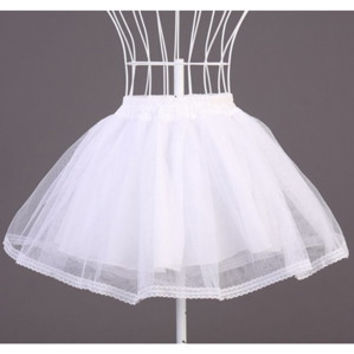 Organza White Black Half Slips Panniers Stage Costumes Accessories Work For Lolita Dress Petticoat Free Size