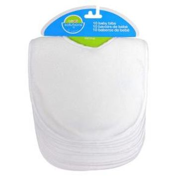 Neat Solutions® 10pk White Bib Set