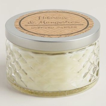 Hibiscus and Mangosteen Savannah Jar Candle