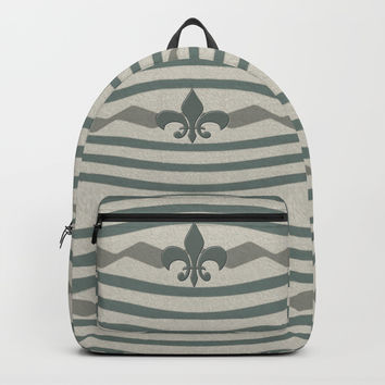Corduroy Pattern Lines Backpacks by Deluxephotos